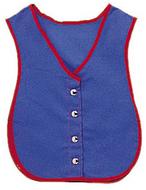 Manual dexterity vests snap vest