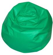 Round bean bag 35in green