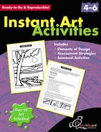 Instant art activities gr 4-6