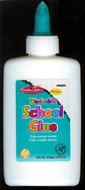 Economy washable school glue 4 oz