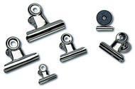 Magnetic spring clips 1 1/4 box-24  1 each