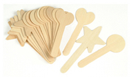 Large geometric shapes 18pcs craft  sticks