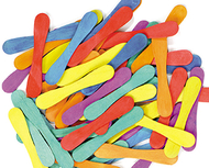Craft spoons bright hues 60pk  3-3/4 x 7/10