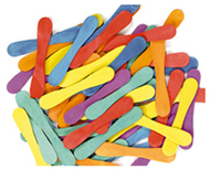 Craft spoons 900 pieces bright hues