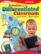 Activities for the differentiated  classroom kindergarten