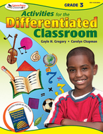 Activities for the differentiated  classroom gr 3