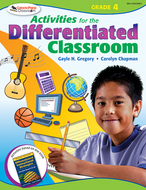 Activities for the differentiated  classroom gr 4