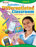 Activities for the differentiated  classroom gr 5