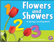 Flowers & showers a spring  counting book