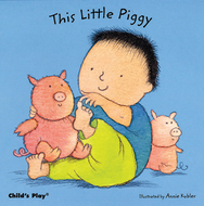This little piggy board book