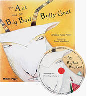 The ant and the big bad bully goat  traditional tale with a twist