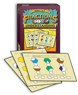 Fractions w/ understanding think  cards
