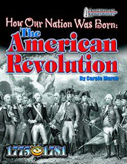 Picture of How our nation was born the  american revolution