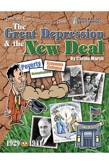 Picture of Brother can you spare a dime  the great depression & the new deal