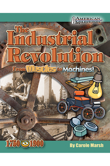 Picture of The industrial revolution from  muscles to machines