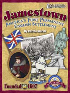 Picture of Jamestown the first permanent  english settlement