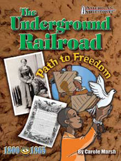 Picture of Underground railroad path to  freedom