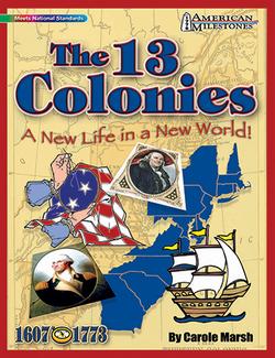Picture of American milestones the 13 colonies