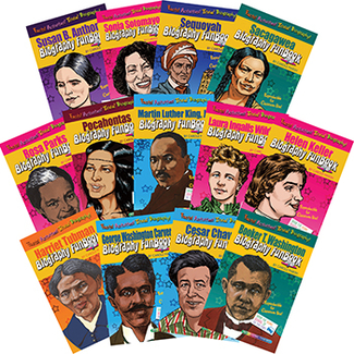 Picture of Biography funbooks women &  minorities who shaped our nation