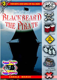 Picture of Mystery of blackbeard the pirate  carole marsh mysteries