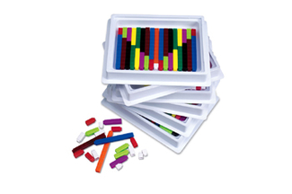 Picture of Cuisenaire rods multipack 6st of 74