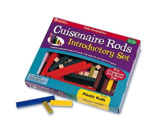 Picture of Cuisenaire rods intro set 74/pk  plastic