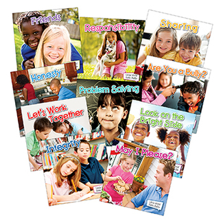 Picture of Little world social skills 10 book  set