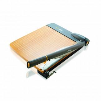 Picture of Westcott trimair titanium wood 12in  guillotine paper trimmer mircroban
