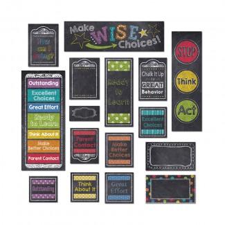 Picture of Behavior clip chart mini bb set  chalk