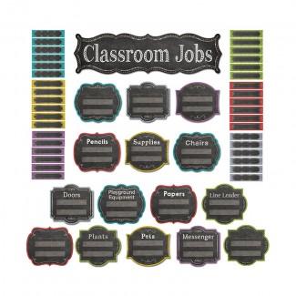 Picture of Classroom jobs mini bb set - chalk
