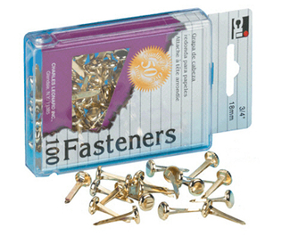 Picture of Brass paper fasteners 3/4 100/box