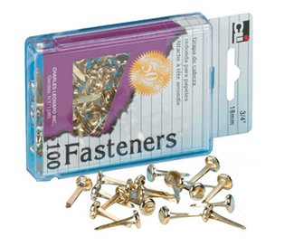 Picture of Brass paper fasteners 1 100/box