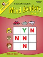 Mind benders beginning book 2  gr 1-2