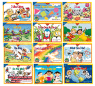 Sight word readers k-1 12 books  variety pk 1each 3160-3171