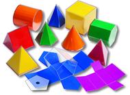 Folding 3-d geofigures 10cm