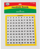 Hundreds boards set of 10
