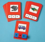 Cvc word building cards 24 cards