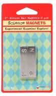 Magnet alnico bar 2 inch 2-pk