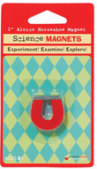 Science magnet 1in alnico horseshoe  magnet