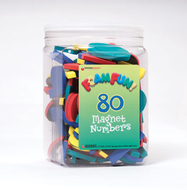 80 foam fun magnet numbers
