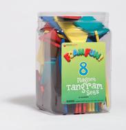 Foam fun magnet tangrams