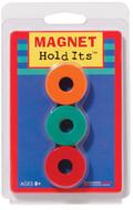 Six 1 1/8 ceramic ring magnets