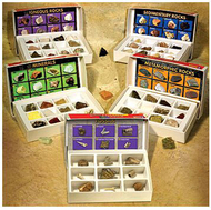 Rock mineral & fossils complete  collection