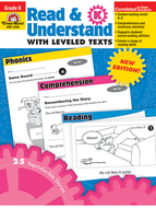 Read and understand stories and  activities gr k