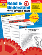 Read and understand with leveled  texts gr 4
