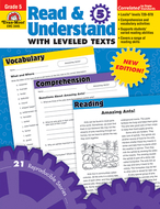 Read and understand with leveled  texts gr 5