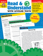 Read and understand with leveled  texts gr 6+