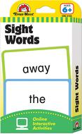 Flashcard set sight words