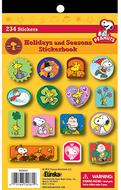 Peanuts holidays and seasons  sticker book