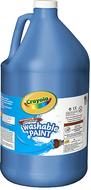 Washable paint gallon blue